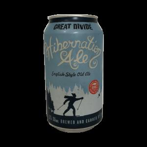 Great Divide Hibernation Ale can