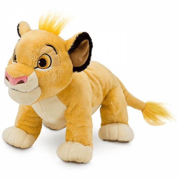 Simba the Lion from Lion King Plush in a standing position