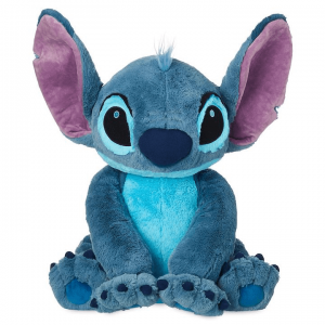 Stitch the Alien Dog from Lilo & Stitch Plush in a seated position