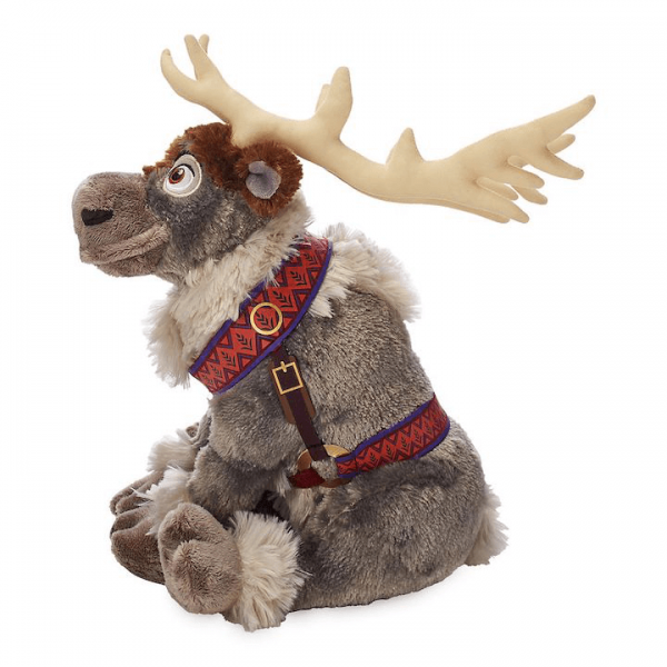 Sven the Reindeer from Frozen plush in a seated position
